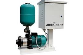 自来水蒸压泵怎么安装
