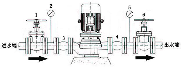 家用增压泵安装图