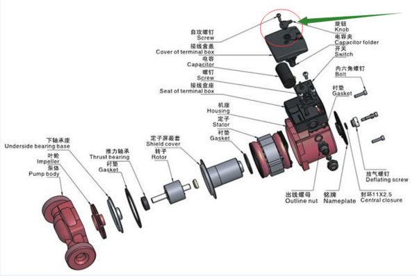 增压泵怎么调压力