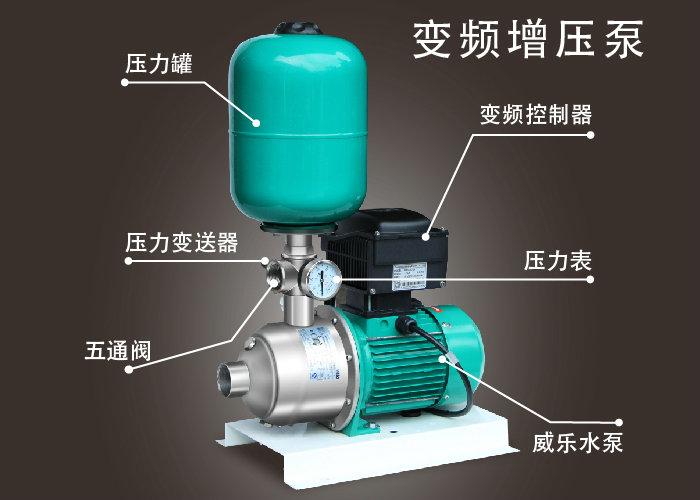 高温热水变频增压泵